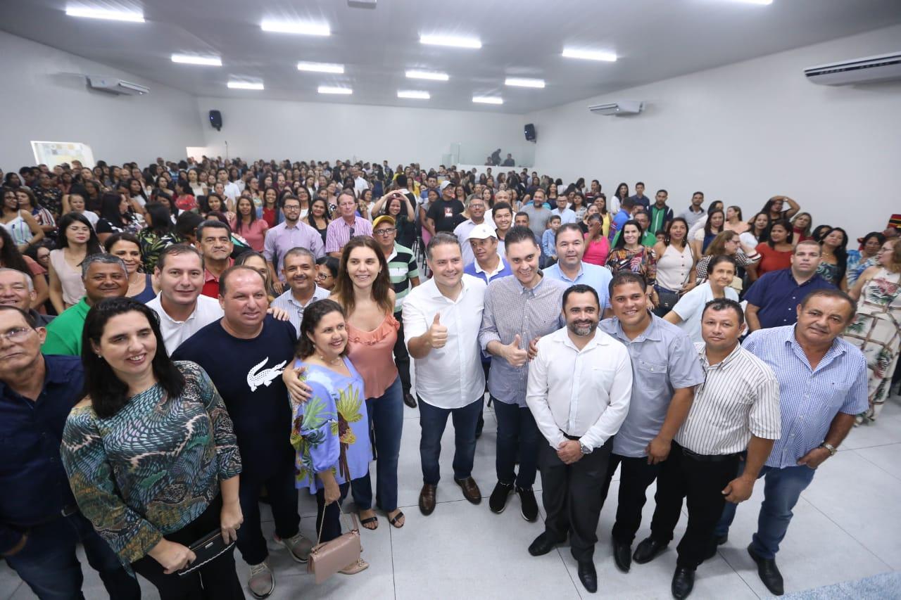 Inauguração da Secretaria de Educação e Cultura