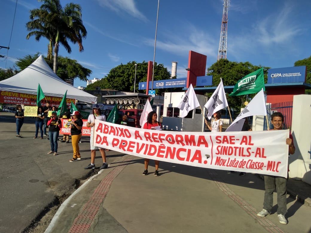 Protesto nacional de Educação