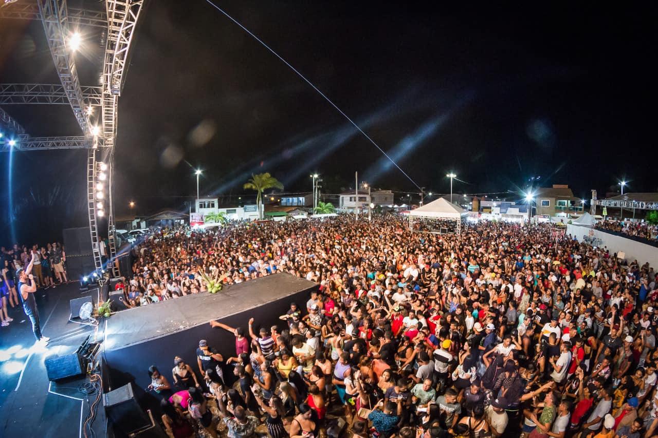 Milhares de pessoas prestigiaram o Festival que teve três dias seguidos de atrações
