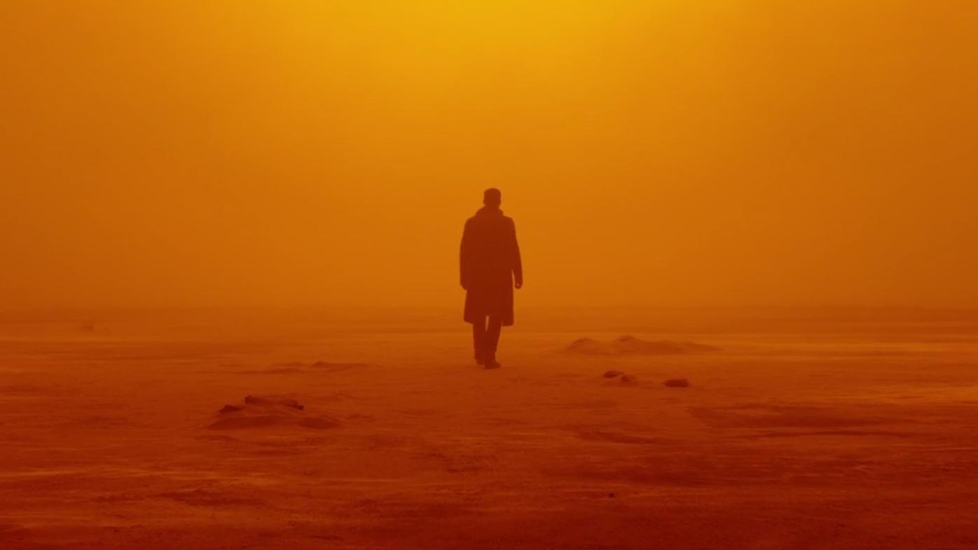 Cena de Blade Runner 2049, um dos melhores trabalhos do ano.