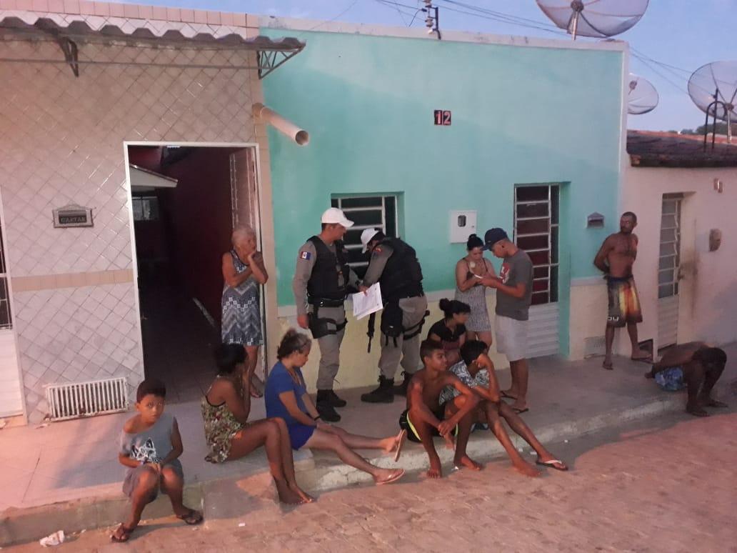 Polícia realiza operação em Santa do Ipanema