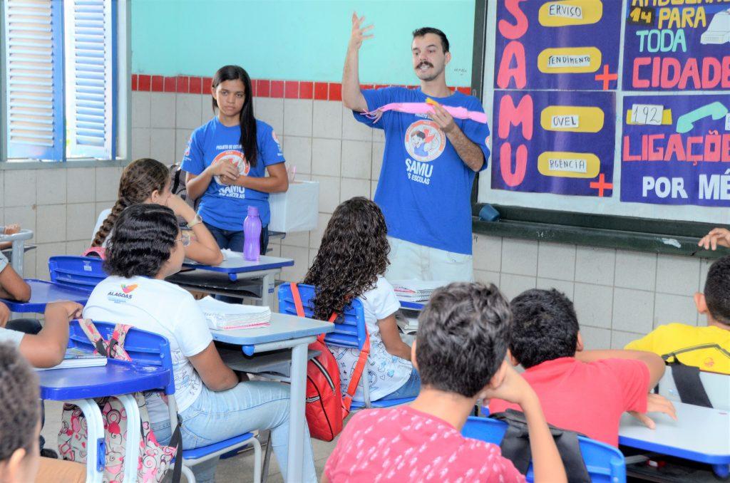 No saldo de janeiro a outubro deste ano, foram 45 ações desenvolvidas em 29 instituições de ensino, com participação de 4.310 crianças.