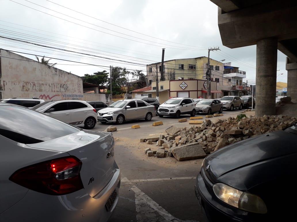 Trânsito em Jacarecica