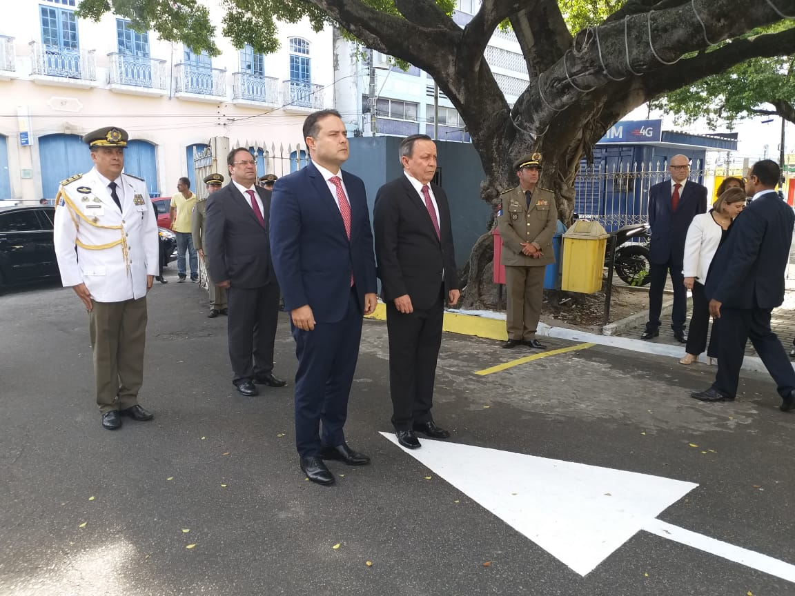 Posse no segundo mandato do governador Renan Filho