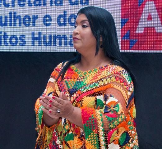 Secretária de Estado da Mulher, Maria Silva
