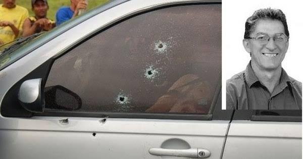 Vereador Luiz Ferreira de Souza foi morto com diversos tiros