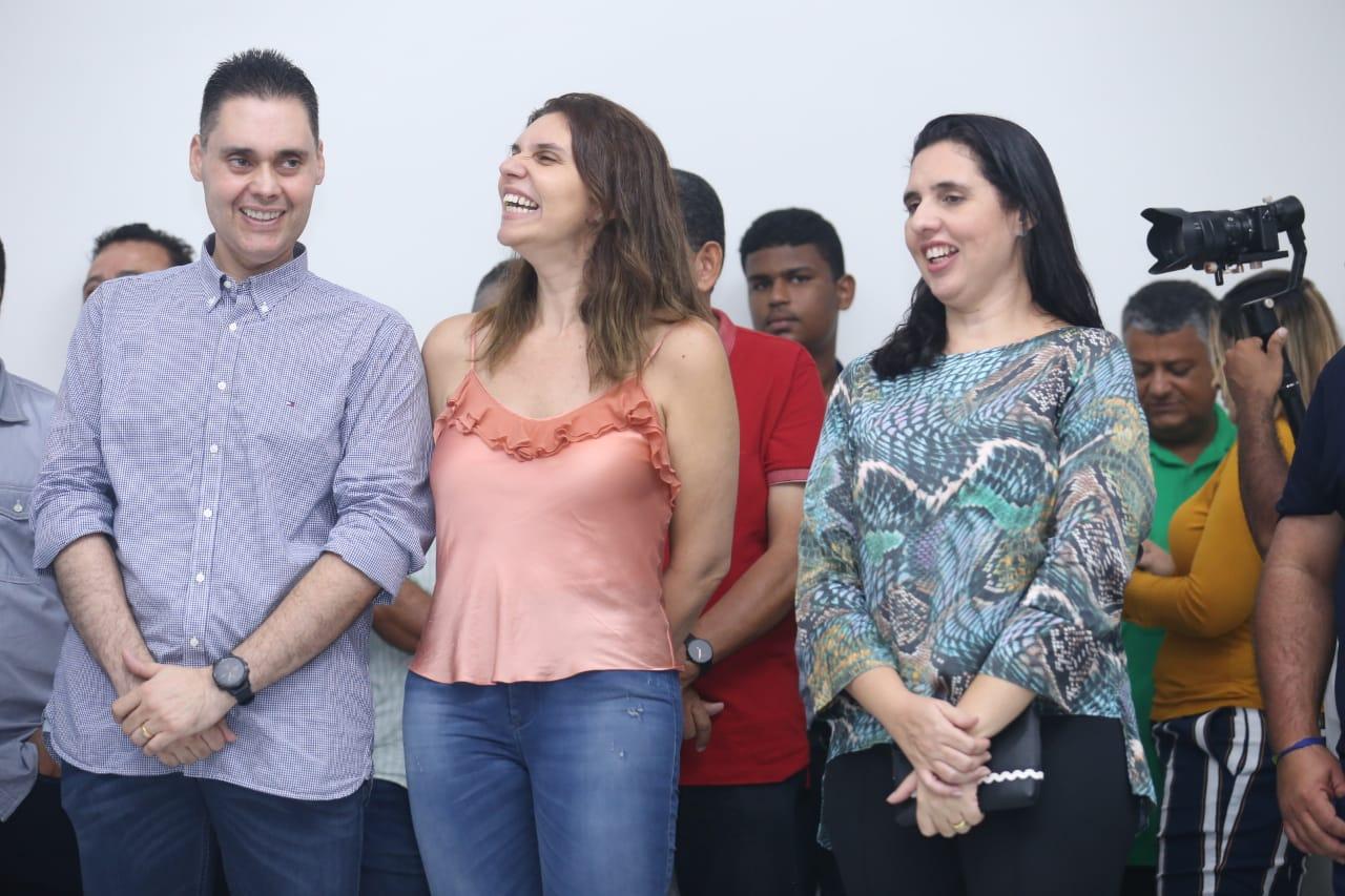 Prefeito Joãozinho, Deputada Jó Pereira e Prefeita Pauline Pereira