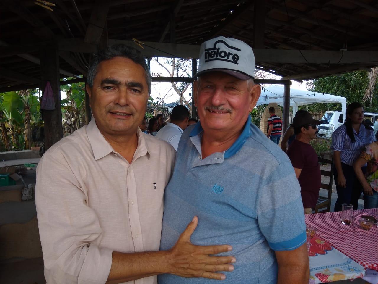 Deputado Francisco Tenório com Ex - Deputado Sertório Ferro
