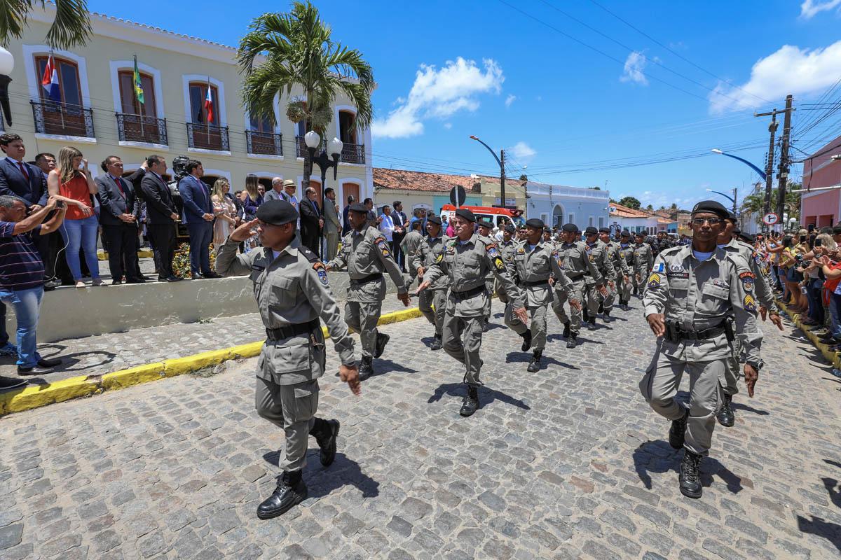 Desfile de 15 de Novembro, em Marechal Deodoro.