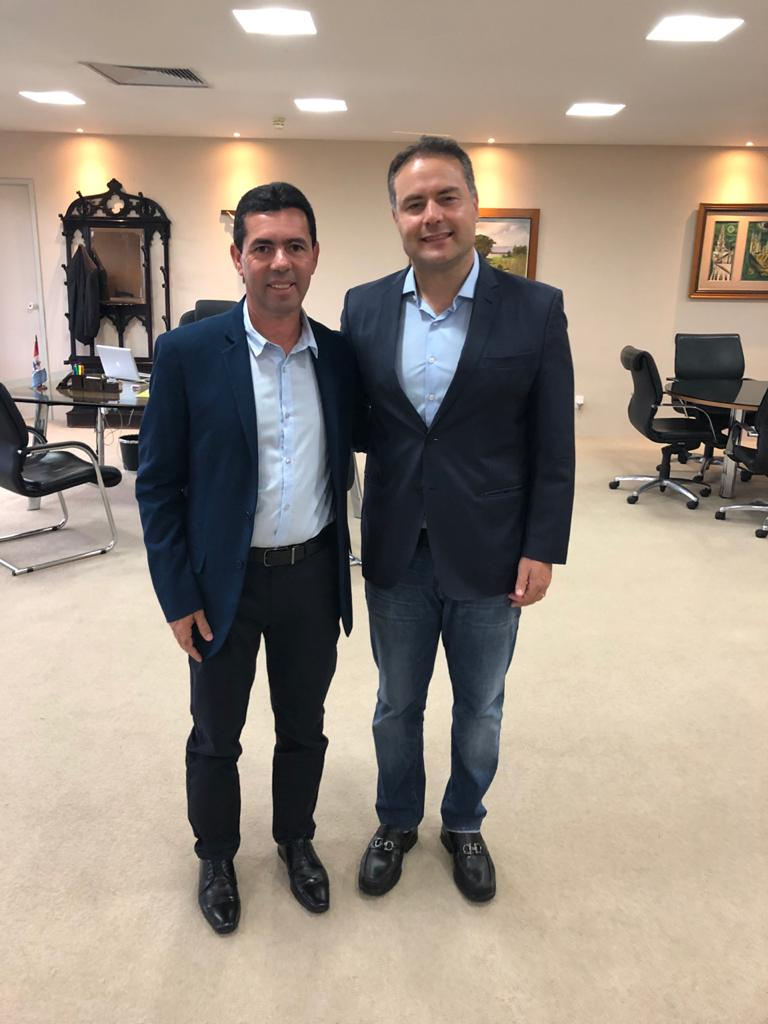 Prefeito Ediel Leite com Governador de Alagoas