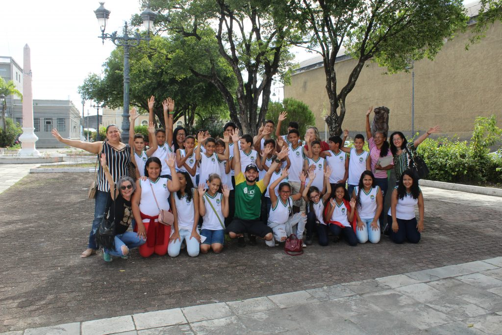 Durante as atividades do Projeto, alunos conhecem atrativos do Jaraguá