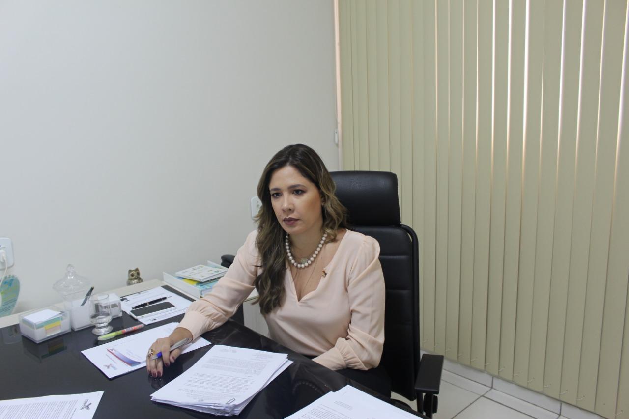 Presidente do Cosems, Isabelle Pereira