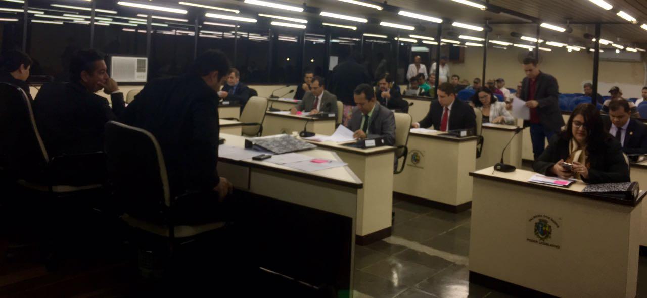 Sessão da Câmara de Palmeira é marcada por ofensas